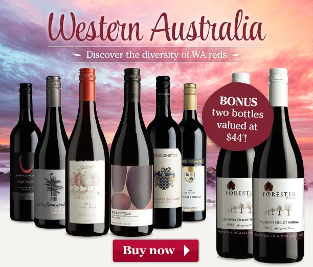 Save $84 on WA red & white + get two bonus bottles worth $44 at WineSelectors.com.au