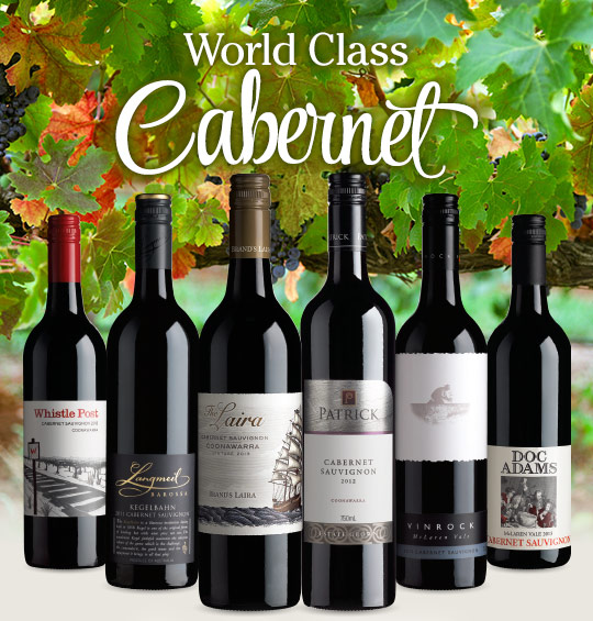 Save up to $89 on world class cabernet at WineSelectors.com.au
