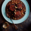 Braised oxtail with arbequina olives and farro thumb