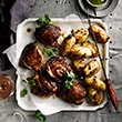 Chicken with aji sauce and Peruvian potatoes recipe thumb