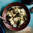Spanish mackerel and seared Hervey Bay scallops, salsa verde recipe thumb