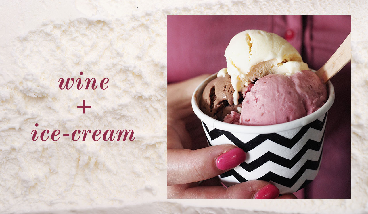 Kinglsey grove wine flavoured ice cream regional flavorus brisbane