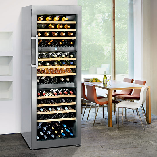 Liebherr Freestanding Triple Zone Wine Cellar