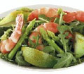 Pear, Asparagus and Prawn