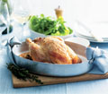Roast Chicken with old fashioned