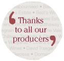 Thanks to all our Producers