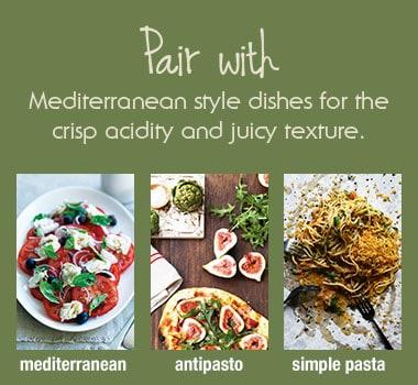 PINOT GRIS/PINOT GRIGIO FOOD PAIRINGS