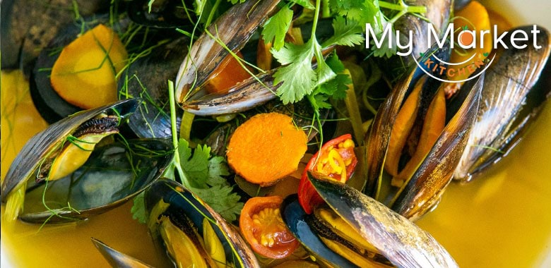 My Market Kitchen's Tom Yum Soup with Mussels