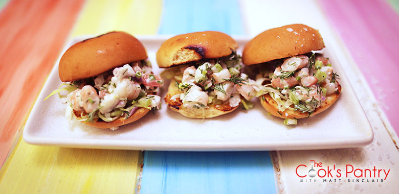 The Cook's Pantry - Prawn Sliders
