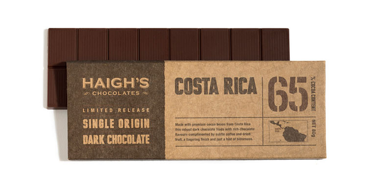 Cab sauv and Haigh's dark chocolate