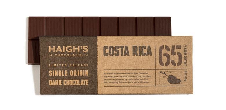 Cab sauv and Haigh's dark chocolate