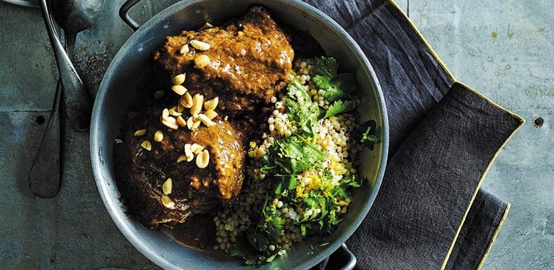Massaman Beef Cheek Curry With Pearl Cous Cous Recipe