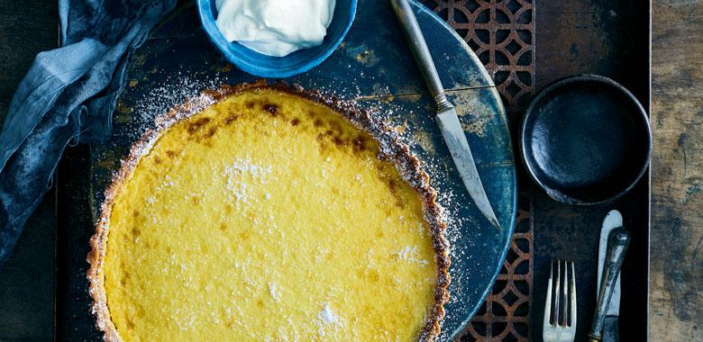 Lyndey Milan's Lemon curd tart