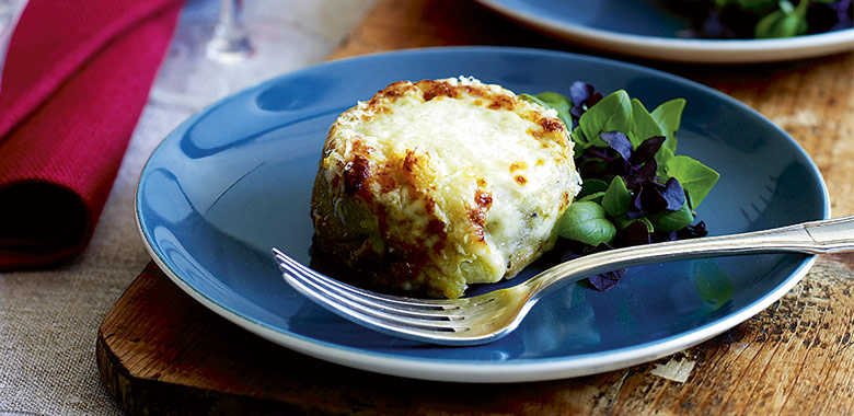 Twice Cooked Roquefort Souffle Recipe