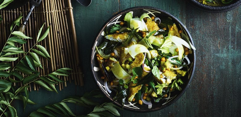 Christine Manfield's Curry Leaf Fish Salad