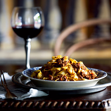 Guy Grossi S Pappardelle With Spiced Veal Ragu Recipe
