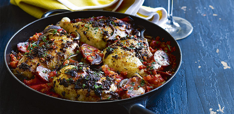 Basque Chicken Recipe