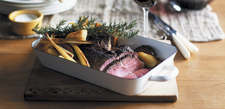 Boneless Leg Of Lamb With Rosemary Recipe Perfect For Australia Day Recipe