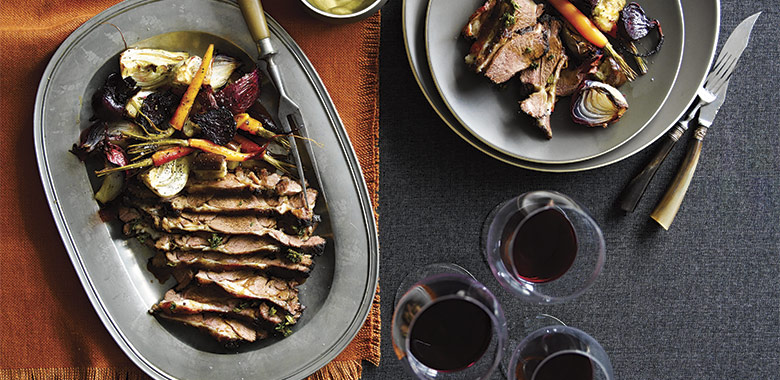 Slow Roasted Baharat Lamb Shoulder Recipe