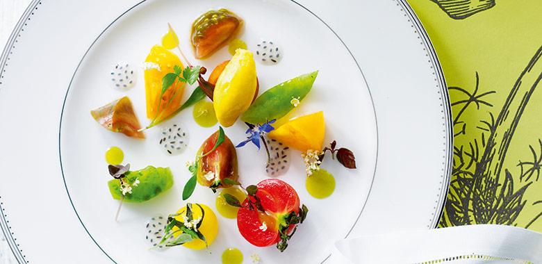 Salad Of Heirloom Tomatoes Recipe