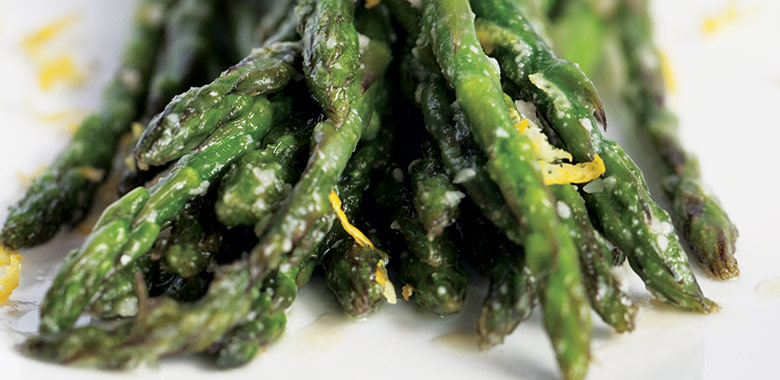 Steamed Asparagus With Walnut Butter Recipe
