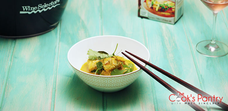 Coconut Poached Snapper