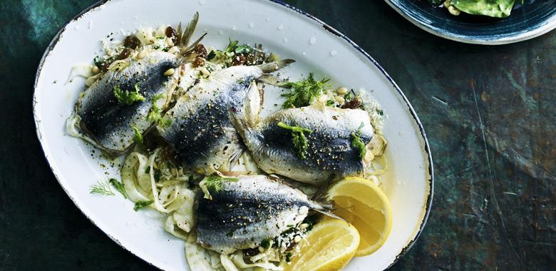 Lyndey Milan's Stuffed sardines