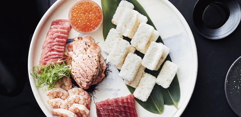 Tetsuya Wakudu's sushi at home recipe