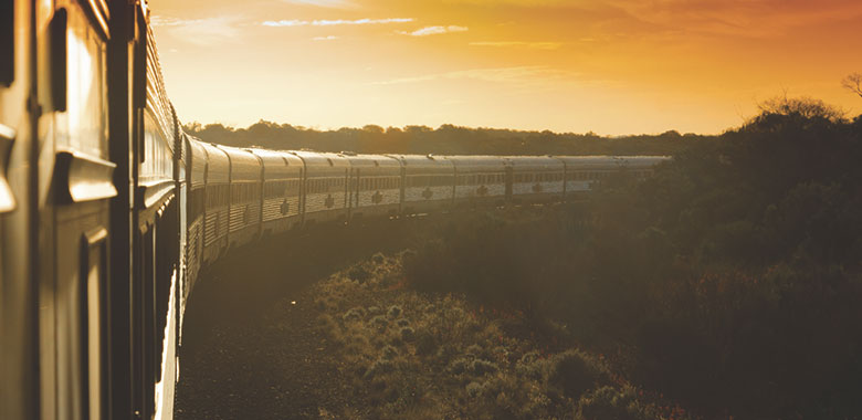 The Indian Pacific Rail Train Expedition