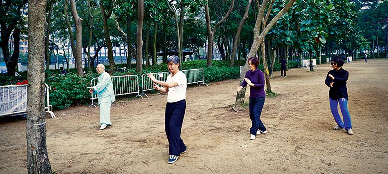Hong Kong Tai Chi Victoria Park