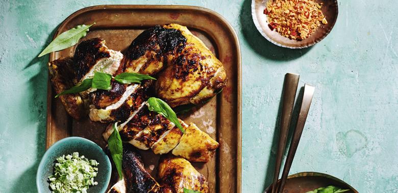 Jerry Mai's grilled lemongrass chicken
