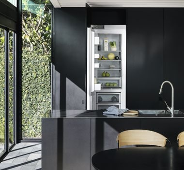 Fisher & Paykel's Column Refrigerators integrate seamlessly into your kitchen design.