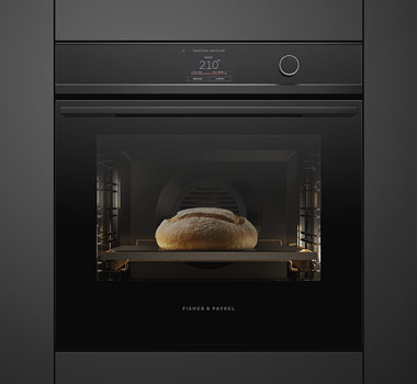 isher & Paykel's Minimal style touchscreen oven.