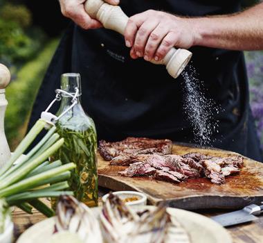 Heston barbecue steak