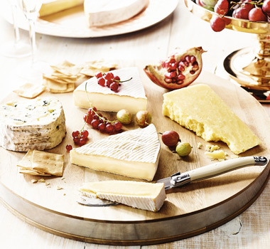 King Island cheese board