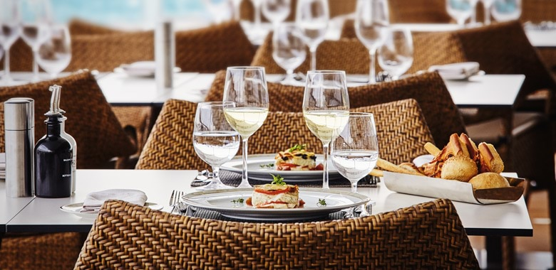 Silversea dining cruise
