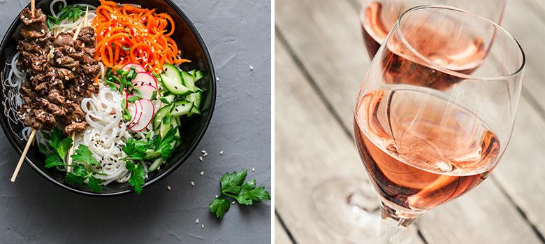 Beef Bun (noodle salad)