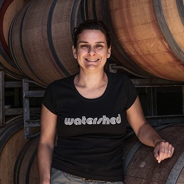 Severine Logan of Watershed Wines