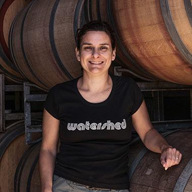 Severine Logan of Watershed Wines