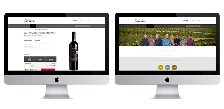 Wine Selectors New Website