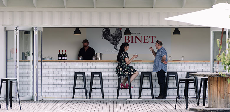 Domaine De Binet And Their New Cellar Door