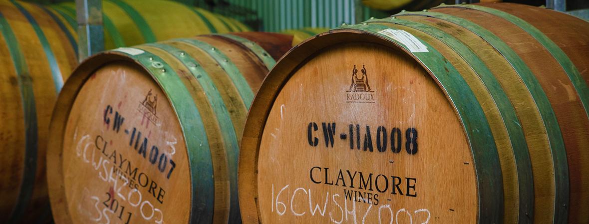 Claymore Wine Oak Barrells