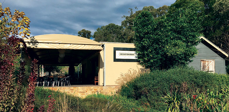 Deviation Road cellar door in the Adelaide Hills
