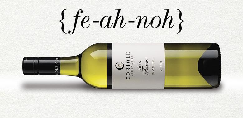 Australian Fiano wine