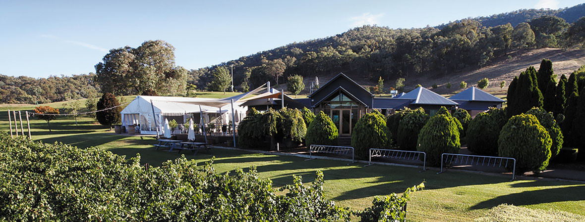 Gapstead winery in King Valley