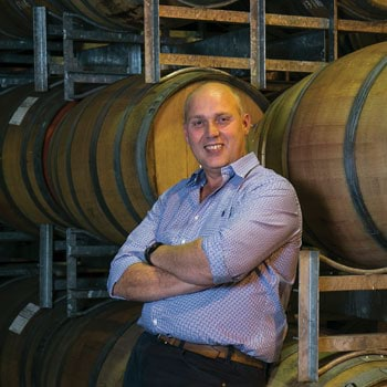 Gapsted winemaker Matt Fawcett