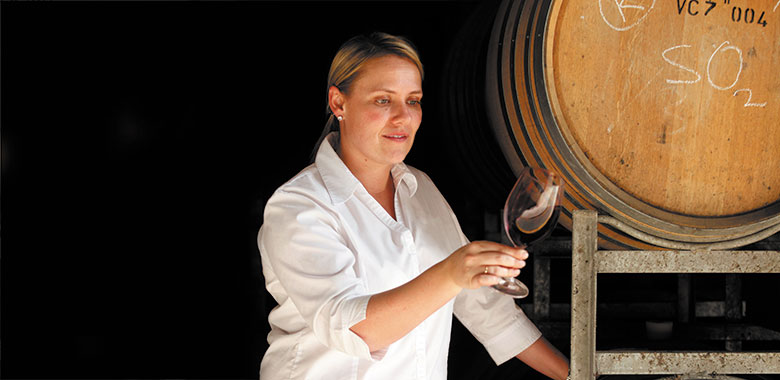 Liz Silkman Australian female winemaker
