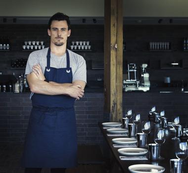 Rare Hare chef Guy Stanaway