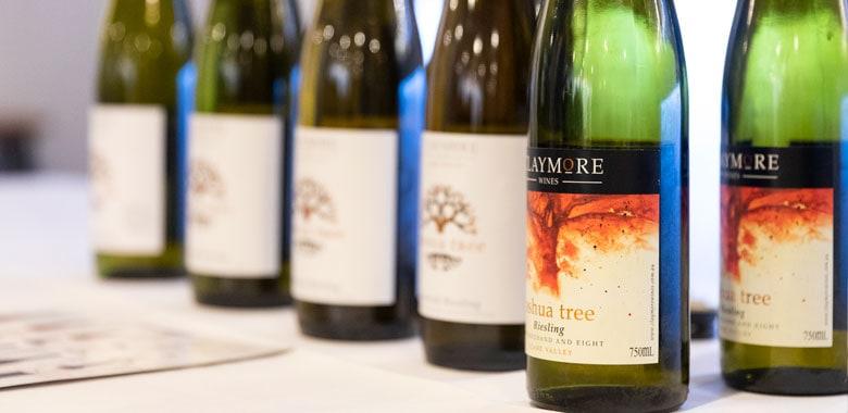 Claymore Wines - Joshua Tree Riesling vertical