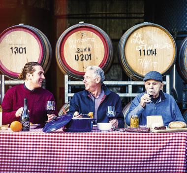 Alain Guglielmino, Dominic Guglielmino, Antonio Guglielmino Mino & Co Riverina Wine Region